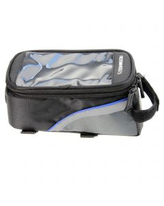 Durable Waterproof Bag Case With Adjustable Strap for Bicycle Lights/ Led Flashlights-Middle Size