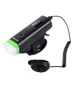 WEST BIKING Front Bicycle Light 1800mAh USB Rechargeable LED Bike Light Waterproof Cycling Headlight
